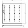 Светодиодный светильник ССВ 25-3400-840-Д110 СанПин для школ
