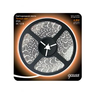 Светодиодная лента Gauss Black 2835/60-SMD